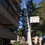 Noleggio scala trasloco Roma
